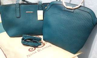 NANA BLANCHE Nadine 2in1 Tote Bags