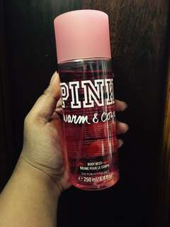 PINK Warm & Cozy Body Mist
