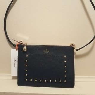 Kate Spade On Purpose Studded Leather Crossbody