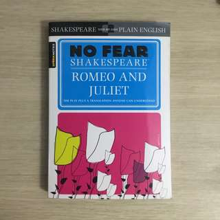 Sparknotes No Fear Shakespeare Romeo and Juliet