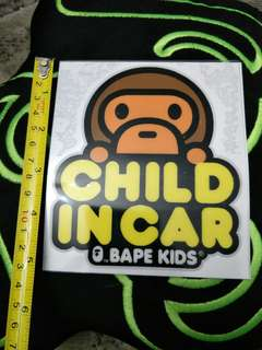Bape kids decals