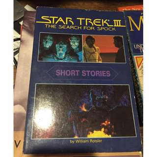 Star Trek The Search for Spock Short Stories