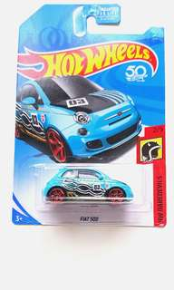 Hot Wheels Fiat 500