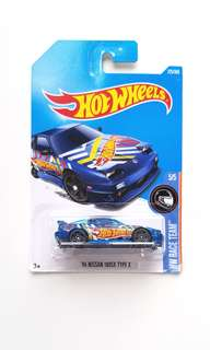 Hot Wheels '96 Nissan 180SX Type X