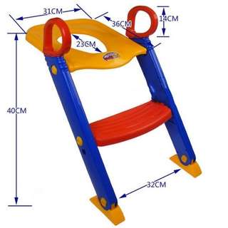 LOZ Toilet Ladder Chair, Toilet Seat