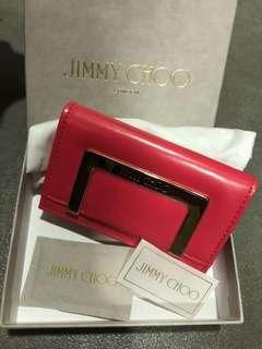 全新Jimmy Choo 卡片銀包