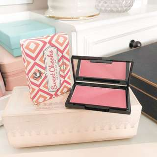 Pink sugar sweet cheeks blush paris lights hd color with cute box