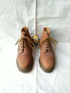 Sepatu boots Dr Martens 3850 Brown hawkins solovair redwing timberland