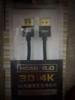 🚚 HDMI/2.0 4K高畫質影音傳輸線