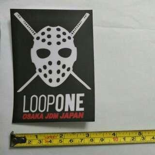 Loop One sticker
