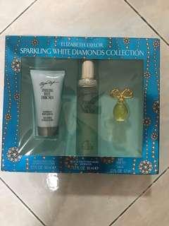Auth Elizabeth Taylor Perfume set