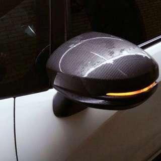 Honda Jazz/Fit GK Refit Carbon Fibre Mirror Cover