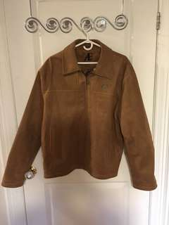 Men's suede jacked XXL