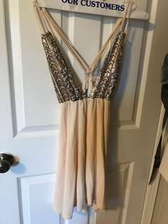 Tobi sequins dress