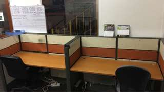 Office Table & Partition