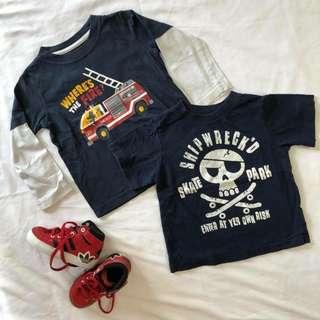 Baby Boy Shirt Set