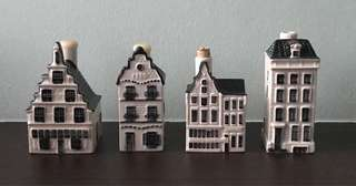KLM Delft Blue Houses