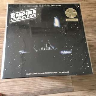 Star Wars The Empire Strikes Back Soundtrack Vinyl Gold Coloured