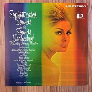 Vinyl LP Record Sophisticated Sounds Of The Sounds Orchestral