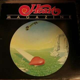 Heart LP Vinyl MAGAZINE