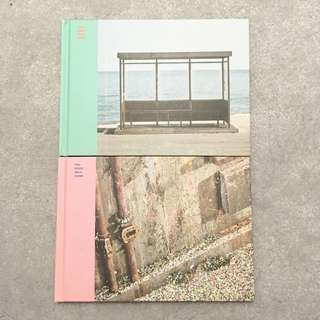 *reposted* BTS you never walk alone (both versions) + posters + fold up stands + Kpoptown photocards
