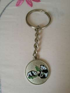 熊貓,英文字母所匙扣