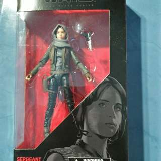 Star Wars black series jean erso