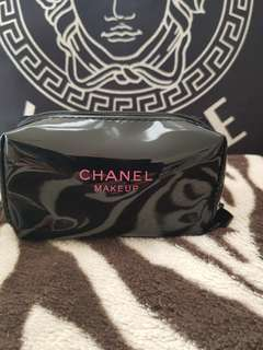Chanel  Make Up bag  Coin Purse black patent