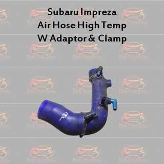 Subaru Impreza Air Hose High Temp with Adaptor & Clamp