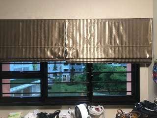 Window Pull Out Privacy Curtain
