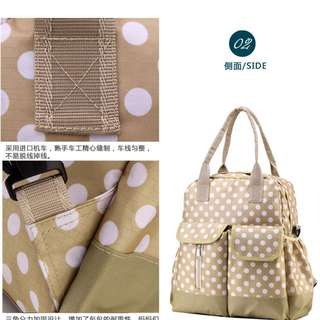 Polka Dot Edition Nappy Diaper Bag