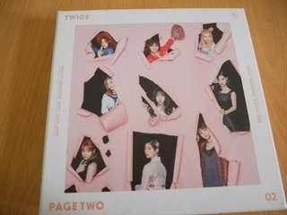 🚚 TWICE<page two>韓版迷你專輯