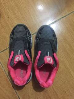 Original Fila rubber shoes for 4 -5 yrs old