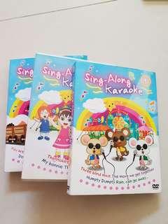 Sing-along Karaoke vol 1,3,4