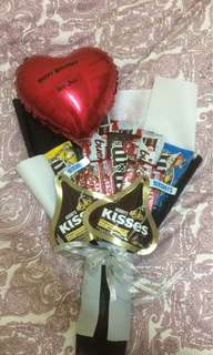 Chocolate Bouquet with Ballon