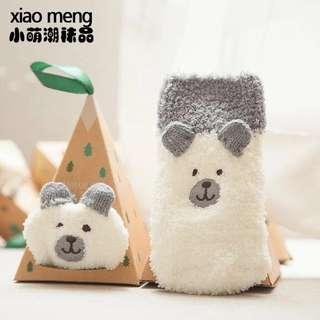 Anti-slip baby sock with gift box
