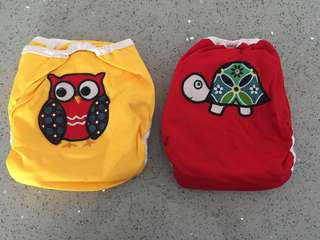 One-Size Cloth Diaper Set