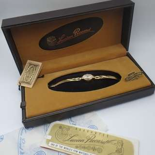 60's Lucien Piccard - Swiss Made 14k 女裝上鍊錶 w/Box