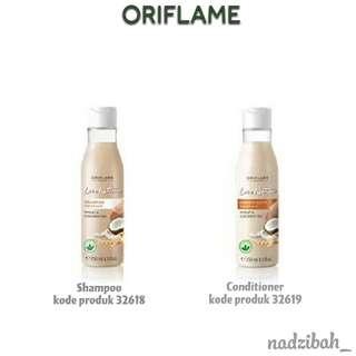Oriflame April 2018 - PAHE(Paket hemat) Conditioner & Shampoo