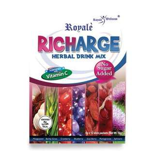 Richarge Herbal Drink Mix