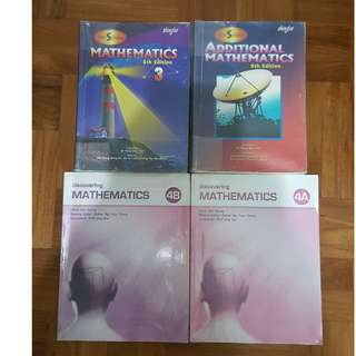 Sec 3 and 4 Express Textbooks