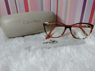 Kacamata baca minus 0.5, CK authentic seri 5814