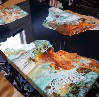 Resin painting Clear Epoxy