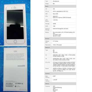 Iphone 6 32gb FU original