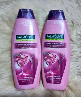 IMPORTED Palmolive Naturals Strenght&Brilliance Shampoo&Conditioner 380ml