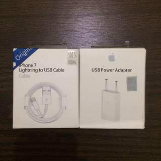 USB and Adapter iPhone