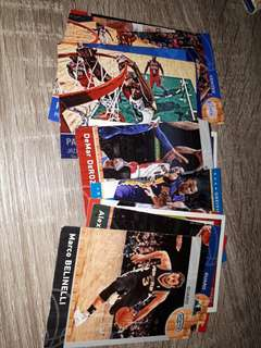 Basketball cards set as in in pic