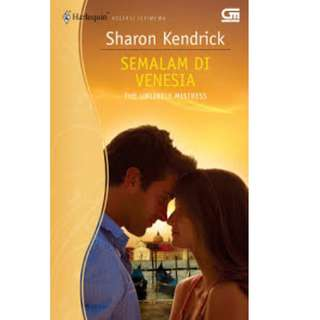 Ebook Semalam Di Venesia (The Unlikely Mistress) - Sharon Kendrick