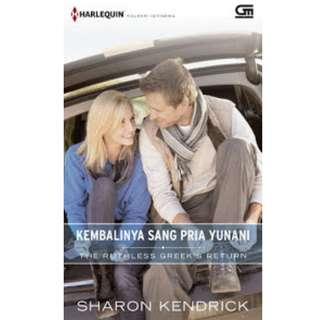 Ebook Kembalinya Sang Pria Yunani (The Ruthless Greek's Return) - Sharon Kendrick