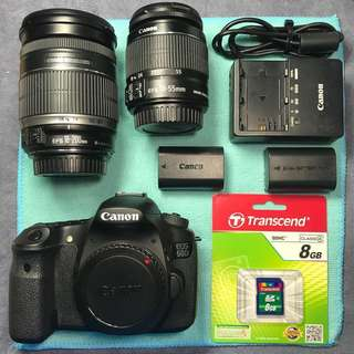 [ SOLD ] Canon EOS 60D + 18-200mm IS + 18-55mm IS II in excellent condition. CHEAP!!!
